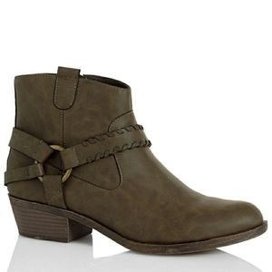 New! XOXO Western Ankle Boots Booties New With Box